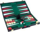 """BACKGAMMON luxe spel in koffer 11"""", origineel van Longfield Games"""