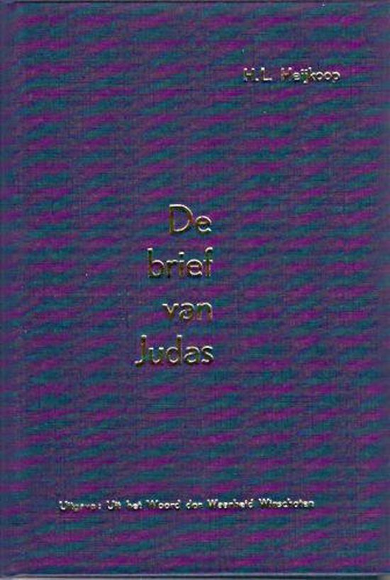 Heijkoop, Brief van judas - H.L. Heijkoop pdf epub