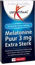 Lucovitaal - Melatonine 3 milligram - 30 Tabletten - Voedingssupplementen