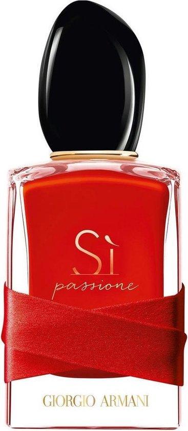Armani Si Passione Red Maestro 100 ml eau de parfum spray damesparfum