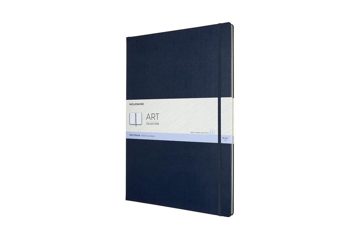 A3 Art Sketchbook Sapphire Blue