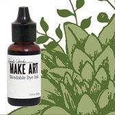 Inkt  - Wendy Vecchi Make art blendable dye reinker fern green - 1 stuk