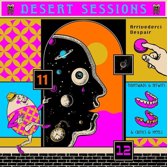 CD cover van Volume 11 & 12 (LP) van Desert Sessions