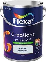 Flexa Creations Muurverf - Extra Mat - Mengkleuren Collectie - S1.05.82 - 5 Liter