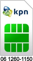 06 1260-1150 | KPN Prepaid simkaart | Mooi en makkelijk 06 nummer | Top06.nl