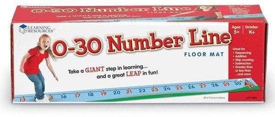 Afbeelding van het spel 0-30 Number Line (getallenlijn tot 30)
