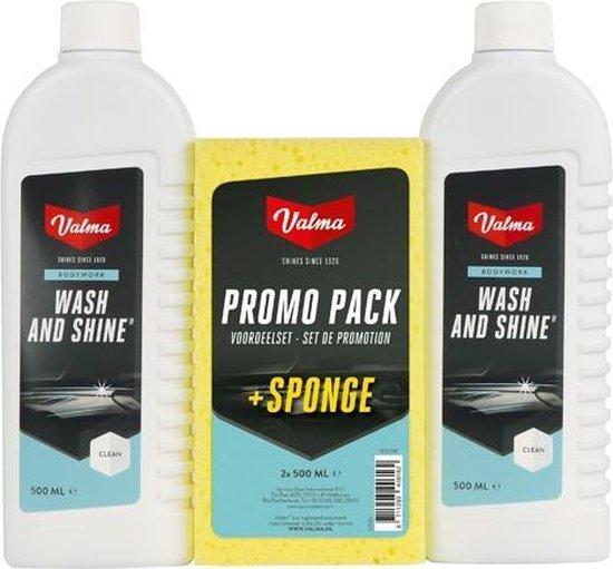 Valma Wash & Shine Promo Pack - 2x 500ml