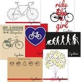 Cyclette Ansichtkaarten Set