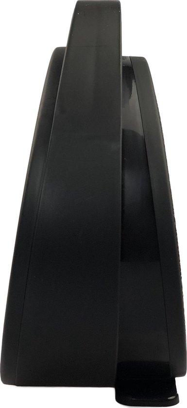 Dynter. Heater - Elektrische kamer kachel - Compacte tafelkachel - Zwart