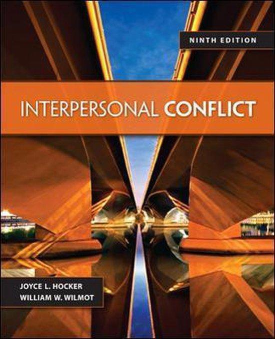 Boek cover Interpersonal Conflict van Cram101 Textbook Reviews (Paperback)