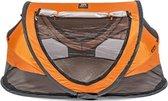 Deryan Peuter Luxe - Campingbedje – Inclusief zelfopblaasbare matras - Oranje -  2021