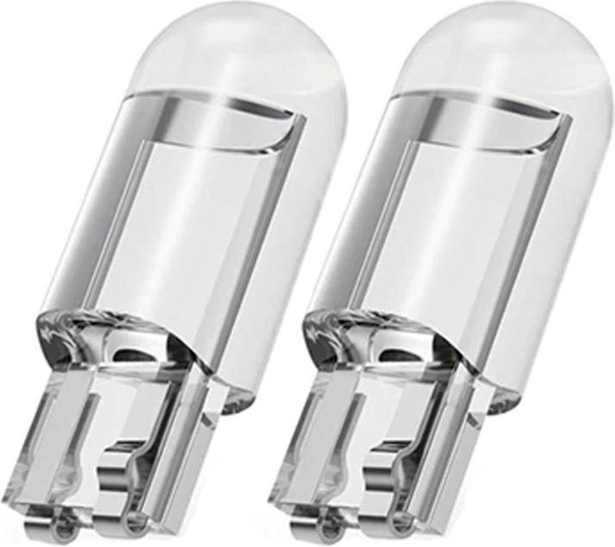 T10 LED-Lamp voor Auto & Motor - Wit - Canbus - 12 Volt - W5W- Set van 2 stuks