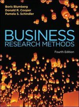 Boek cover Business Research Methods van Boris Blumberg