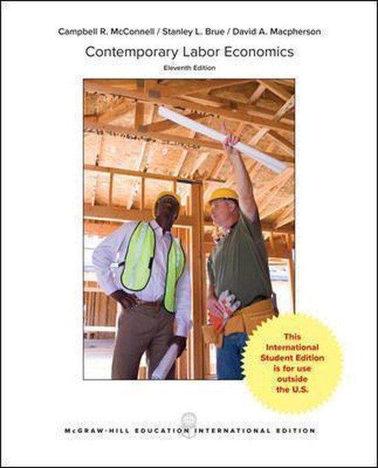 Boek cover Contemporary Labor Economics van Campbell R. Mcconnell (Paperback)