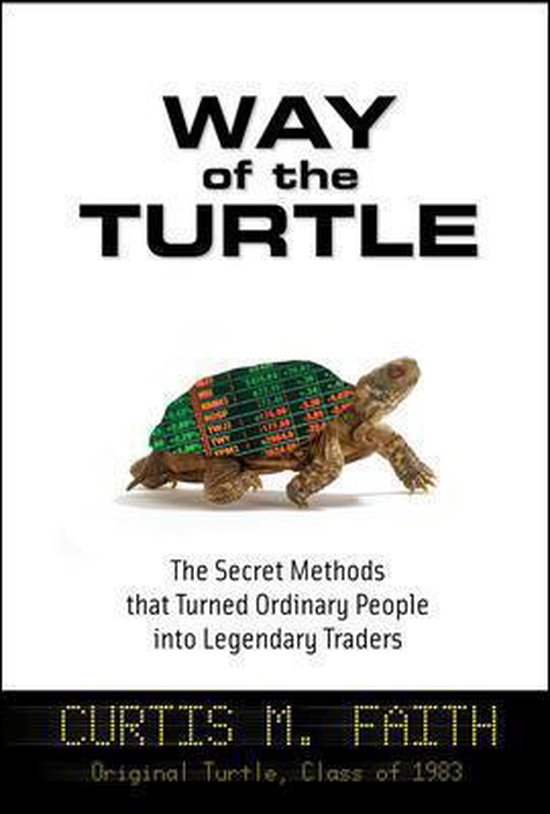 Boek cover Way of the Turtle van Curtis Faith (Onbekend)