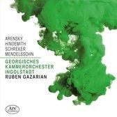 Arensky, Hindemith, Schreker, Mendelssohn