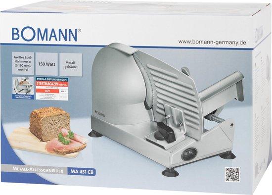 Bomann MA451CB - Elektrische Snijmachine