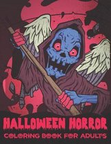 Halloween Horror Coloring Book For Adults