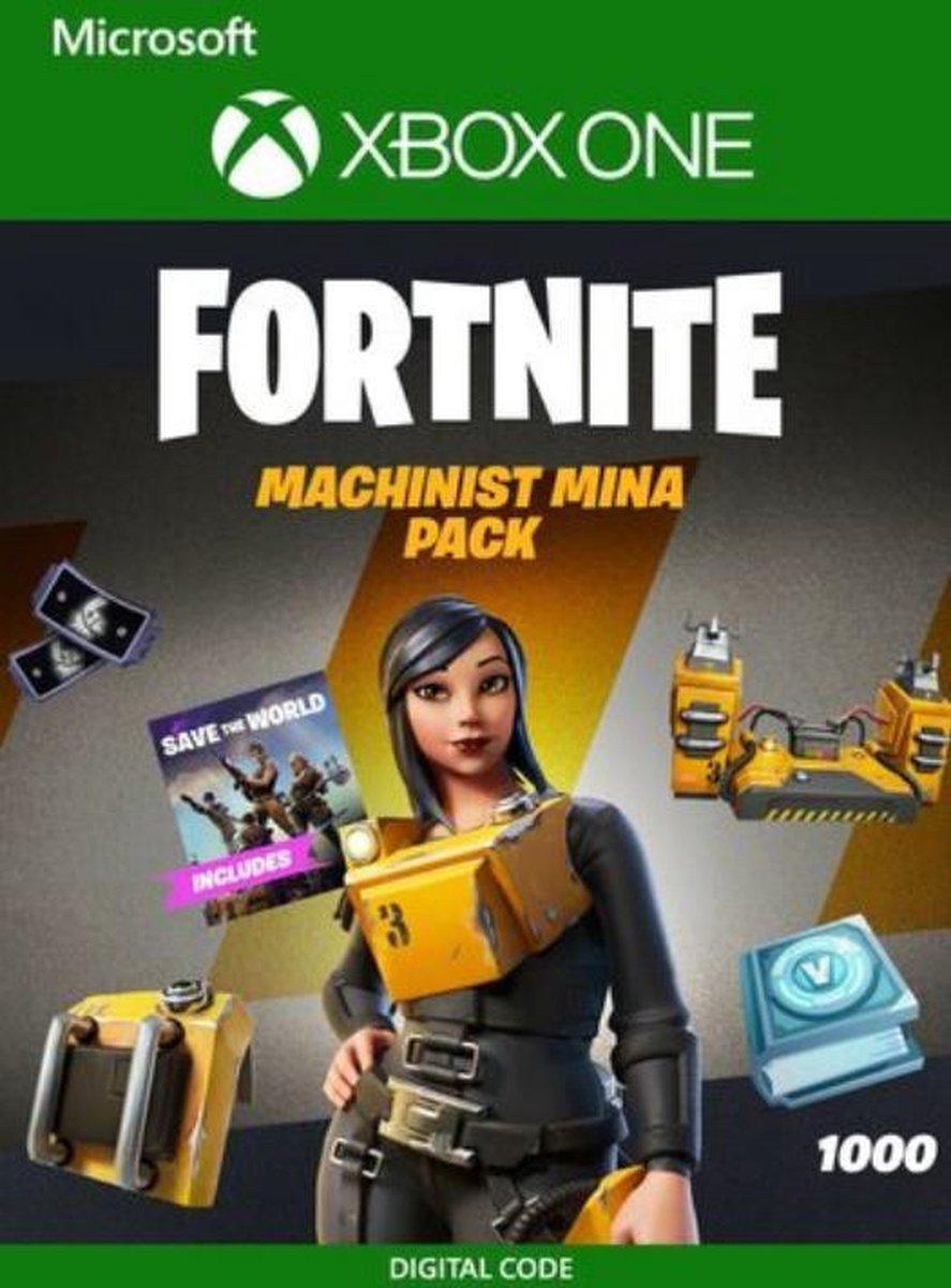Fortnite Machinist Mina Pack - Fortnite Bundel Xbox One - 1000 V-Bucks - Download Code