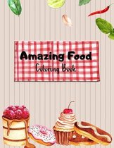 Amazing Food Coloring Book