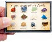 Edelstenen van de Wereld Set (12 stenen / 8 – 10 mm)