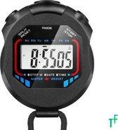 Stopwatch | Hardlopen | Sport | Fluwelen Zakje | Water Bestendig | Timer | Zwart