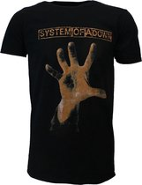 System Of A Down Hand T-Shirt Zwart