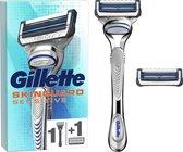 Gillette SkinGuard Sensitive Scheersysteem Voor Mannen + 1 Navulmesje