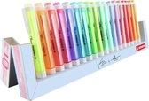 STABILO Swing Cool - Markeerstift - 18 Stuks Deskset - 10 Pastel Kleuren + 8 Standaard Kleuren