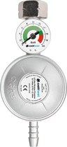 Cellfast gasregelaar met manometer LPG / propaan / butaan