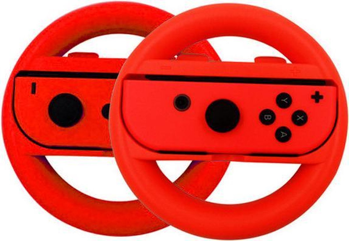 Switch stuur voor Joy-Con - 2 stuks - Rood - Geschikt voor Nintendo Switch - Nintendo Switch Accesso
