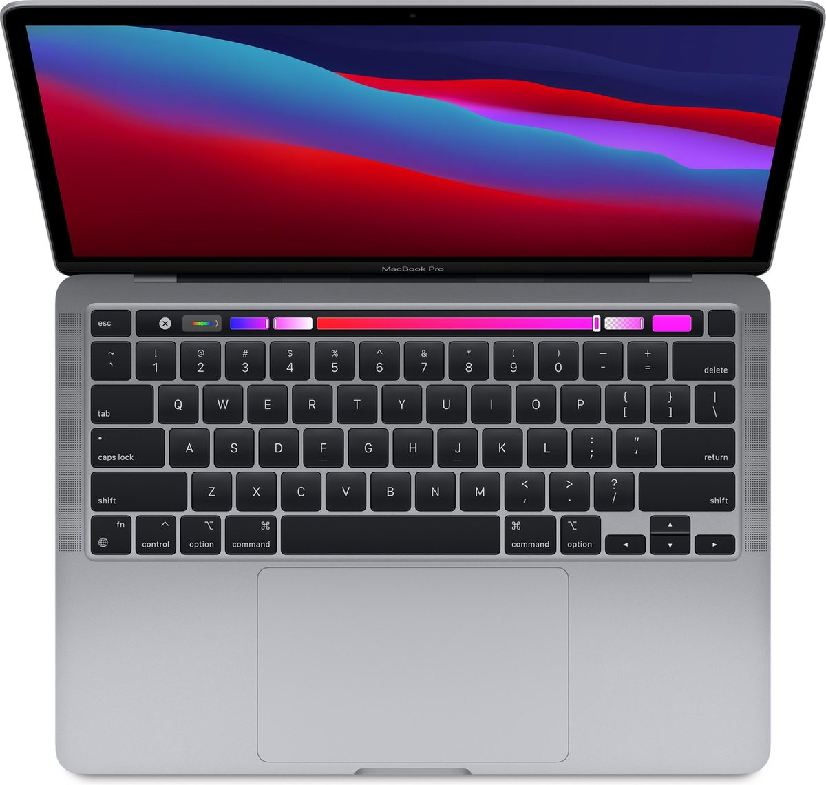 Apple MacBook Pro (November, 2020) - 13.3 inch - Apple M1 - 512 GB - Spacegrey voor fotobewerken