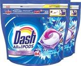 Dash All in 1 Wasmiddel Pods Zeebries - 2x42 Wasbeurten - Voordeelverpakking