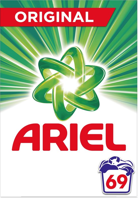 Ariel Original Waspoeder 4.485kg, 69 Wasbeurten