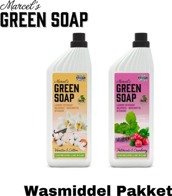 Marcel's Green Soap - Wasmiddel Pakket / Ecologisch / Vegan / Schoonmaakset / Schoonmaakpakket / Schoonmaak / Voordeelpakket / Voordeel