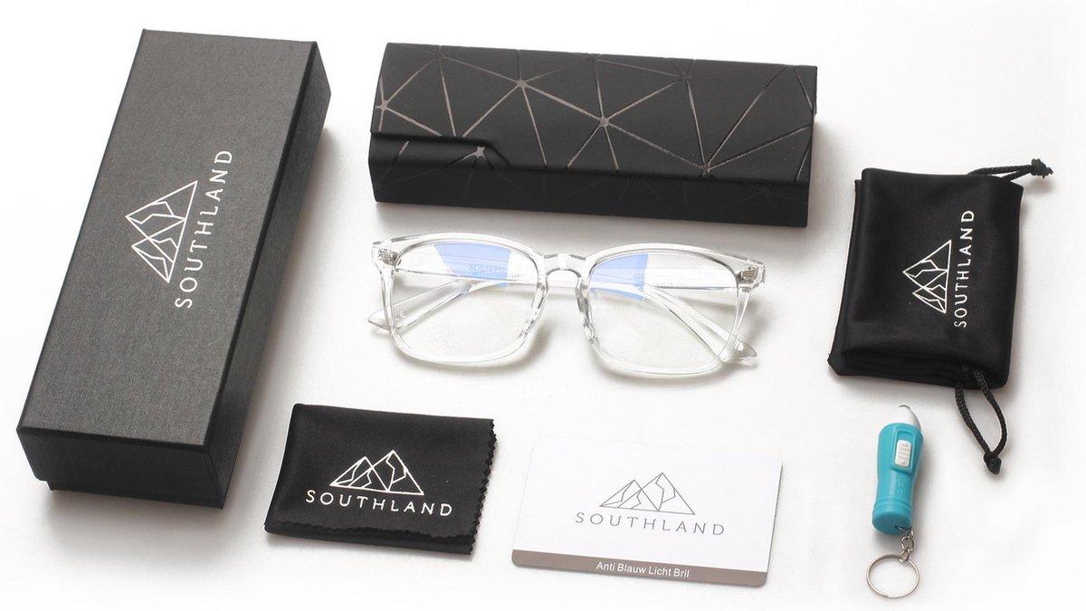 Southland Computerbril – Blauw Licht Bril – Blauw Licht Filter– Blue Light Glasses – Beeldschermbril