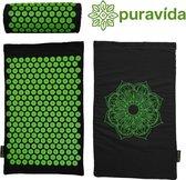 PuraVida Acupressuur mat - Spijkermat - Inclusief kussen -  Massage mat - Groot formaat - Volledig pakket