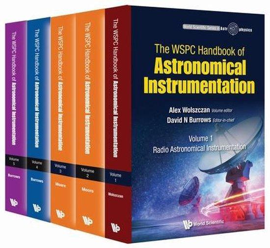 Boek cover Wspc Handbook Of Astronomical Instrumentation, The (In 5 Volumes) van David N. Burrows (Hardcover)