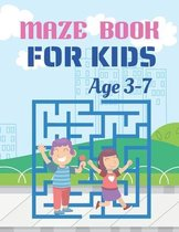 Maze Book For Kids Age 3-7