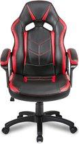 ZDO Racing Gamingstoel - PU leer - Zwart/Rood