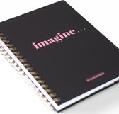 "Studio Stationery My black notebook ""Imagine"""
