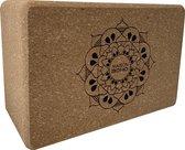 Yoga Blok | Kurk | Mandala | Ecologisch |Yoga | Fitness | Maison Boho Yoga