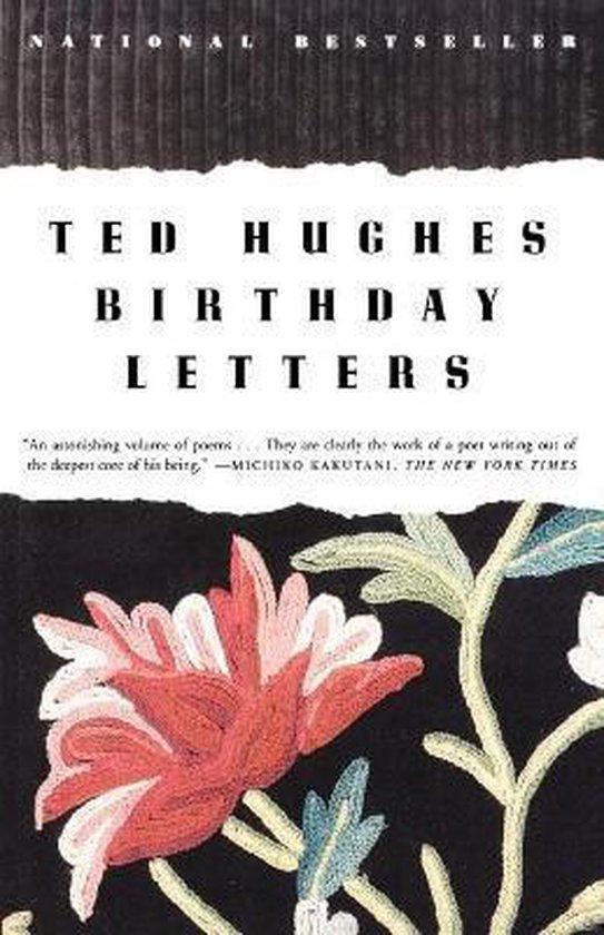 Boek cover Birthday Letters van Ted Hughes (Paperback)