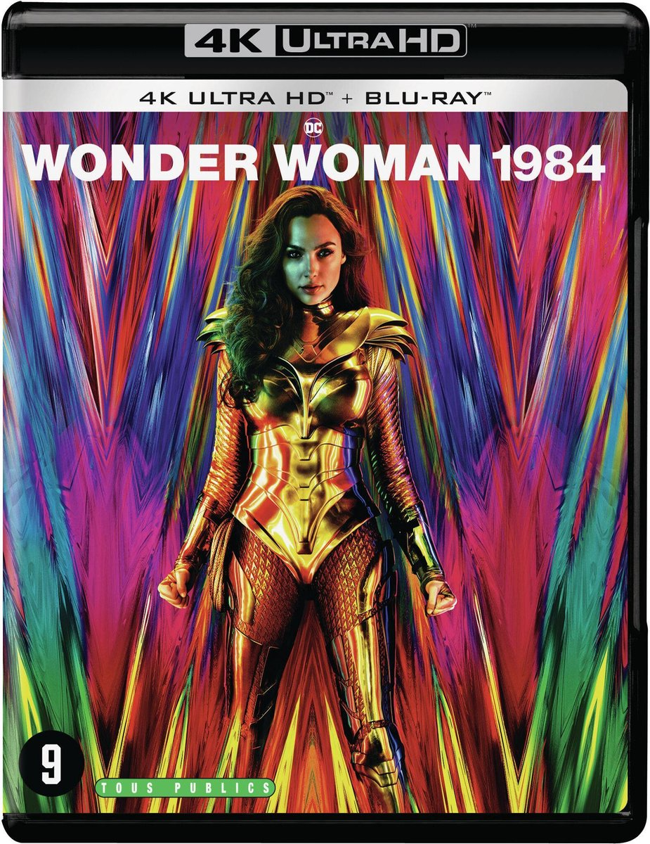 Wonder Woman 1984 (4K Ultra HD Blu-ray)-