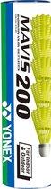 Yonex Mavis 200 - in en outdoor plastic shuttle - geel