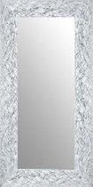 Spiegel Wit & Zilver 57x147 cm – Calla – Unieke Look – Mensenwerk