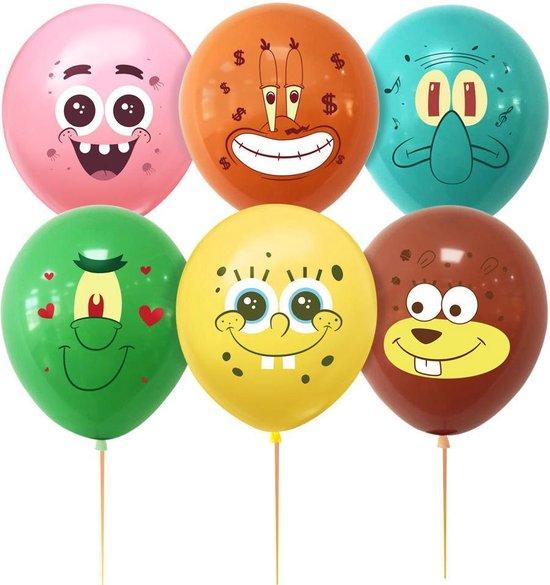 SpongeBob & Vrienden Ballonnen - Set van 6