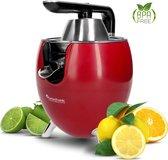 Turbotronic TT-CJ400 Citrus juicer - Sinaasappelpers - 300W - Rood