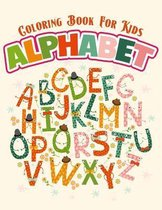 Coloring Book For Kids - Alphabet