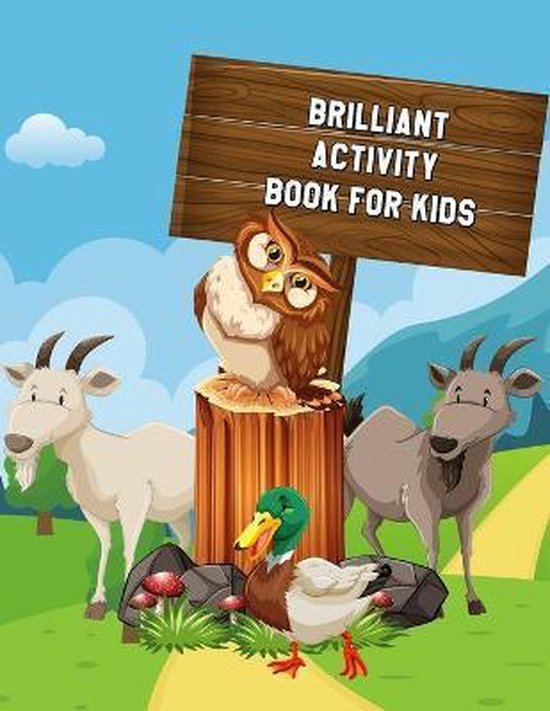 Brilliant Activity Book for Kids: Learning Workbooks